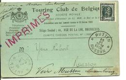 Touring Club De Belgique 1929 - Belgique