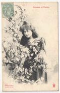 BERGERET - Femmes Et Fleurs - 1905 - Bergeret