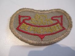 Ecusson Tissu Ancien /SCOUT/ CANADA /Beprepared/ Boy Scouts/ Années 1950-1960   ET140 - Patches