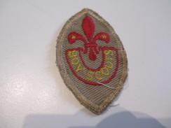 Ecusson Tissu Ancien /SCOUT/ CANADA /Beprepared/ Boy Scouts/ Années 1950-1960   ET141 - Patches