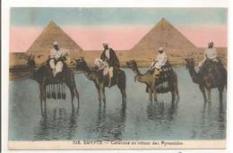 EGYPTE - Caravane Au Retour Des Pyramides. - Pyramids