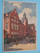 """KONINKLIJKE HOLLANDSCHE LLOYD """" LLOYD HOTEL """" () Anno 1934 ( Zie Foto Voor Details ) !! - Amsterdam"""