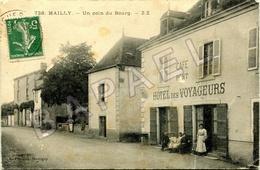 Mailly (71) - Un Coin Du Bourg (Circulé En 1911) - Otros Municipios