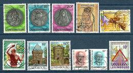 Luxembourg 1986  11 TP Oblitérés