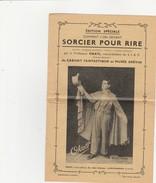 Cirque ,Sorcier Pour Rire,professeur OKATI ,du Cabinet Fantastique Au Musée GREVIN (prestidigitation) Livry-Gargan - Publicités