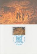 Carte  Maximum  1er   Jour    Parc  National  De  TASSILI  N' AJJER   ALGERIE   UNESCO   1993 - Prehistorie