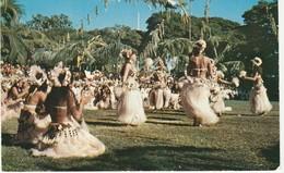 TAHITI -  Danses Tahitiennes Pendant Les Fêtes Du 14 Juillet - Tahiti