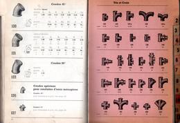 Catalogue De 210 Pages. Année 1953. Raccords En Fonte, Tubes, Coudes, Tés, Robinets, Richardson à Marseille. - Catalogues