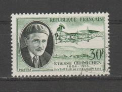 FRANCE / 1957 / Y&T N° 1098 : Etienne Oehmichen - Choisi - Cachet Rond - France