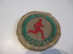 Ecusson Tissu Ancien /SCOUT/ CANADA /Coureur/ Boy Scouts/ Années 1950-1960   ET142 - Patches