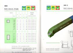 Catalogue Widia, Outils De Tour ISO. Ets. Fayard à Saint-Etienne. - Catalogues