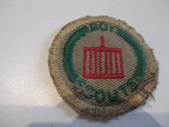 Ecusson Tissu Ancien /SCOUT/ CANADA /Grille / Boy Scouts/ Années 1950-1960   ET144 - Patches