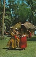 TAHITI -  Le Tamouré. Danseur Et Danseuse - Tahiti