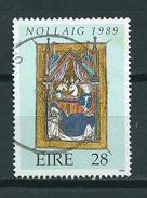 1989 Ireland 28p. Christmas,kerst,weihnachten,noël Used/gebruikt/oblitere - 1949-... Republiek Ierland