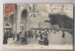 Lourdes - 1910 - Poste Des Brancardiers - Animée - Lourdes