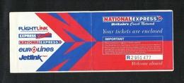 Eurolines Jetlink  Transport Ticket Used Passenger Ticket - Transportation Tickets