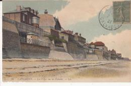 Dep 14 - Langrune  - Les Villa Sur Les Falaises -  Carte à 0.90 Euro - France