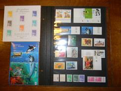 Blocs+feuillets+timbres Individuels Neufs** Année 2002 Sous La Faciale - Blocs & Feuillets