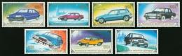 MONGOLIA 1989 TRANSPORT Vehicles AUTOMOBILES CARS - Fine Set MNH - Mongolia