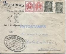 64523 ARGENTINA MERCEDES BS AS PUBLICITY SASTRERIA COVER AÑO 1954 STAMPS EVITA EVA PERON CIRCULATED TO BS AS NO POSTCARD - Argentinien