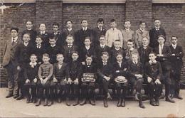 25942- Carte Photo Ecole Moyenne De Chatelet -1911 - J-Bte DEWEIRT -  Bouffioulx - Musicien
