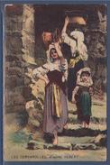 = Les Cervarolles D'après Ernest Hébert, Inspiré à Cervara, Village Isolé Des Abruzzes, Italie - Malerei & Gemälde