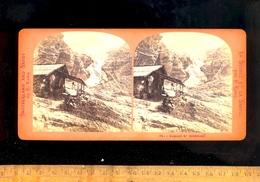 Photo Stereo Photographie 3D Relief : Le Glacier De ROSENLAUÏ ( Schattenhalb Berne ) Refuge / Gletscher - Photos Stéréoscopiques