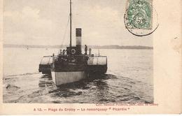 80,LE CROTOY,le Remorqueur PICARDIE - Le Crotoy