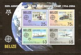 Belize 2006 Yvertn° Bloc 91*** MNH  Cote 13 Euro 50 Ans Europa 50 Jaar - Belize (1973-...)