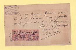 Timbre Fiscal - Paris Gobelin - 1919 - 1877-1920: Semi Modern Period