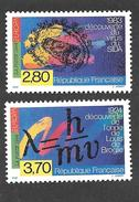 France:( Sous Faciale) Europa 1994 N° 2878/79** - France
