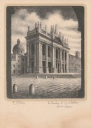 9546) ROMA BASILICA DI S. GIOVANNI IN LATERANO ILLUSTRATORE DANDOLO BELLINI NON VIAGGIATA 1949 Circa - Roma