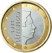 Luxemburg 2017    1 Euro    UNC Uit De Zakjes  UNC Du Sackets LEVERBAAR - LIVRABLE  !! - Luxemburgo