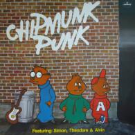 * LP *  THE CHIPMUNKS - CHIPMUNK PUNK (Holland 1980) - Rock