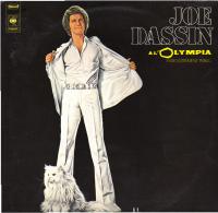 * 2LP *  JOE DASSIN - A L'OLYMPIA EN REGISTREMENT PUBLIC (Holland 1974) - Vinylplaten
