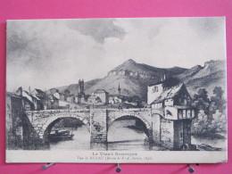 12 - Vieux Rouergue - Vue De Millau - Dessin De Pernot - Scans Recto-verso - Millau