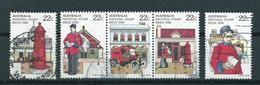 1980 Australia Complete Set Stampweek Used/gebruikt/oblitere - 1980-89 Elizabeth II