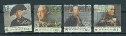 1986 Australia Complete Set Colonisation Used/gebruikt/oblitere - 1980-89 Elizabeth II