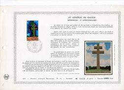 DOCUMENT    GENERAL DE GAULLE  MEMORIAL TIRAGE 4900 - 1970-1979