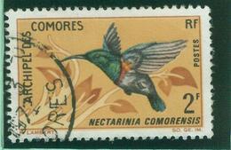 COLONIES FRANCAISES - Comores - Yt N°41 Oblitéré Liquidation -0.15/objet Si Vous Achetez Groupé