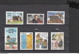 ITALIA REPUBBLICA  - 200 Commemorativi Differenti Perfetti Usati - Francobolli