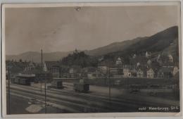 Heerbrugg Bahnhof - Photo: Hans Gross No. 8966 - SG St. Gall