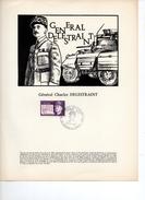 DOCUMENT    GENERAL DELESTRAINT TIRAGE 100  RARE - 1960-1969