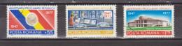 1977 - 30 Anniv. De La Republique Michel No 3481/3483 Et Yv No 3085/3087 - 1948-.... Repúblicas