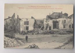 VITRIMONT - Bombardé Par Les Français Et Ensuite Par Les Allemands  - La Guerre En Lorraine En 1914 - Animée - Guerre 1914-18