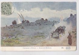 Illustrateur - Environs D' EVIAN  1907 - Route De Meillerie - Collection Source Cachat - Edition Prieur & Dubois - 1900-1949