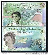 British Virgin Islands, 1 Dollar, 2014 POLYMER, QEII UNC Ayrton Senna - Haïti
