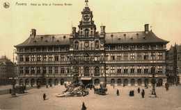 Anvers. Hôtel De Ville Et Fontaine Brabo - Belgique