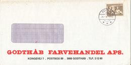 Greenland Cover Godthab 26-8-1982 - Groenlandia
