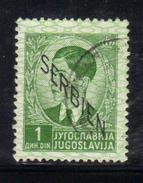 XP504 - SERBIA Occupazione Tedesca 1941 , Il N. 3  Usato - Serbia